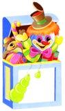 Brinquedos na caixa Fotografia de Stock