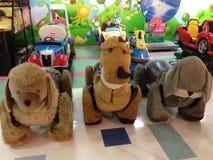 Brinquedos no parque de diversões Foto de Stock Royalty Free