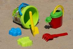 Brinquedos para a ilustração de children Fotos de Stock
