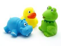 Brinquedos plásticos Imagens de Stock