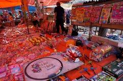 Brinquedos plásticos Foto de Stock