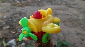 Brinquedos planos para o entretenimento, espírito altos fotografia de stock