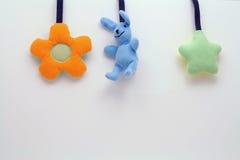 Brinquedos Plushy Imagens de Stock Royalty Free