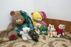 Brinquedos prontos para o apocalipse Fotografia de Stock