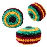 Brinquedos: Saco de Hacky ou trio de Footbag Imagem de Stock Royalty Free