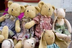 Brinquedos velhos Imagem de Stock Royalty Free
