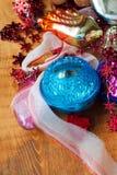 Brinquedos velhos do Natal de minha bisavó Foto de Stock