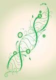 Brins d'ADN de fleur Photos libres de droits