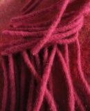 Brins fuchsia abstraits de laine Photographie stock libre de droits