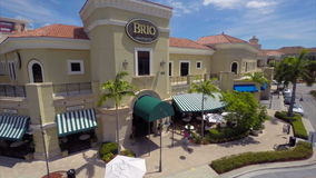 Brio Gill Hallandale FL aerial video stock footage
