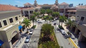 Brio Gill Hallandale FL aerial video stock video footage