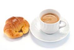 brioche καφές Στοκ εικόνα με δικαίωμα ελεύθερης χρήσης