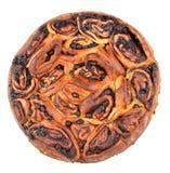Brioche με το aronia και το αμυγδαλωτό σοκολάτας Στοκ Εικόνες