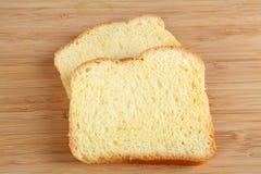 Brioche. Broiche bread on cutting board Stock Image