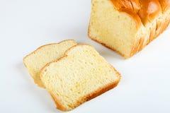Brioche. Broiche bread with white background Stock Photo