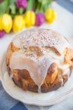Brioche Cake Stock Image