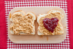 Brioche with homemade chocolate spread Royalty Free Stock Image