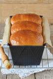 Brioche loaf bread Royalty Free Stock Photos