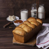 Brioche loaf Stock Photography
