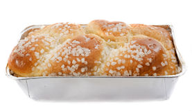 Brioche with sugar Royalty Free Stock Images