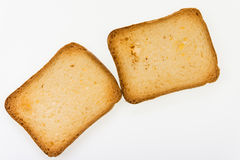 Brioche toasts Royalty Free Stock Image