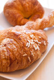 Brioches for sweet awakening Stock Photo