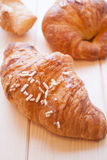 Brioches for sweet awakening Stock Photography
