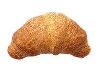 Brioches on white background Stock Photos