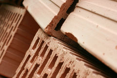 Brique Images stock