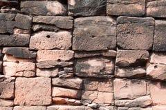 Brique antique de texture de mur en pierre image stock