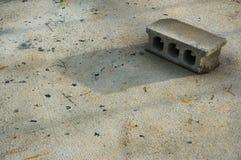 Brique avec l'ombre photo libre de droits