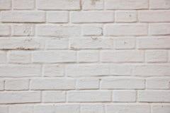 Brique blanche Photographie stock