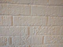 Brique blanche Image libre de droits
