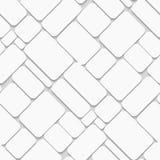 Brique blanche sans couture Images libres de droits