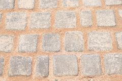 brique comme fond Photos stock