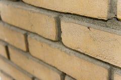 Brique dans le mur Photo libre de droits