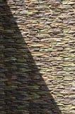 Brique de fond de lumière de Sun illustration stock