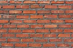 Brique de mur en construction Images libres de droits