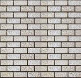 Brique de mur faite en pierre Image libre de droits