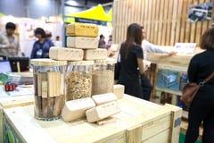 Brique en bois Images libres de droits