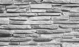Brique en pierre mince grise haut détaillée Fond mince de brique, texte images stock
