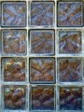 Brique en verre Image stock
