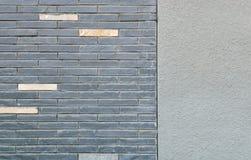 Brique et plasterwork Photo libre de droits
