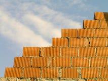 Brique - mur Photo libre de droits
