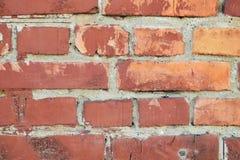 Brique orange Images libres de droits