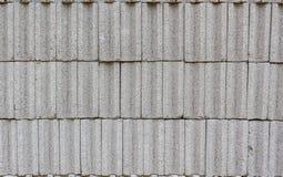 Brique pleine concrète Images stock