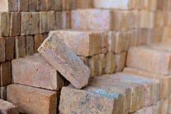Brique rouge Photographie stock