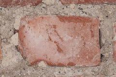 Brique rouge Photos stock