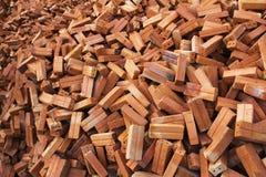 Brique rouge Image stock