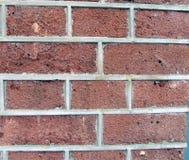 Brique rouge-brun, la colle, construction urbaine Photographie stock